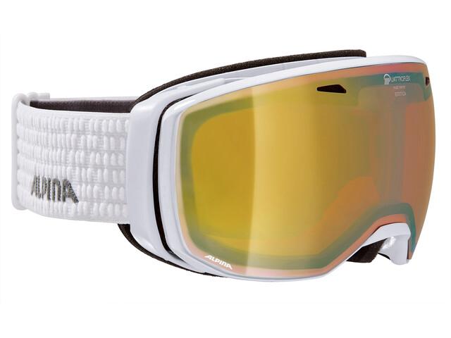 Alpina Estetica QMM Goggle white Q gold spherical